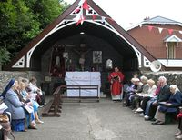 The Opening of Mass at Ballybarrack Shrine