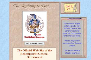 Link to the website of the Redemptorists Worldwide